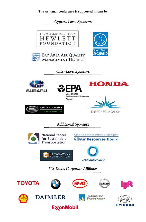 Asilomar 2017 Sponsors