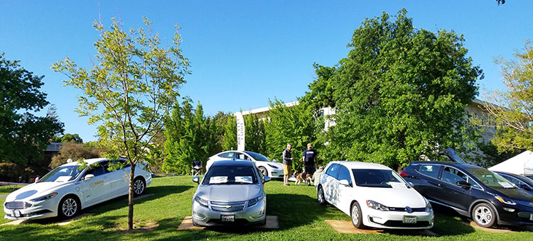 Image of EV Cars at Picnic Day 2018